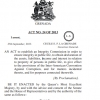 Act No. 24  of 2013 Integrity in Public Life Act